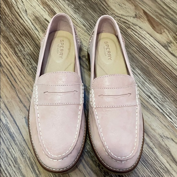 Brand New Sperry's in Blush color